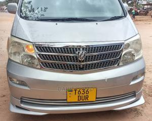 Toyota Alphard 2002 Silver   Cars for sale in Dar es Salaam, Kinondoni