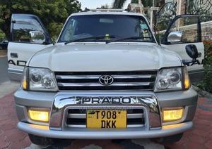 Toyota Land Cruiser Prado 2002 Silver | Cars for sale in Dar es Salaam, Kinondoni