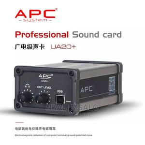 2 Channel USB External Sound Card APC PAM2 Noise Isolation | Audio & Music Equipment for sale in Mwanza Region, Nyamagana