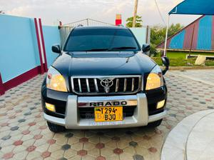 Toyota Land Cruiser Prado 2004 Black | Cars for sale in Dar es Salaam, Ilala