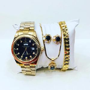 Set of Watch+ Bracelet+ Earrings   Watches for sale in Dar es Salaam, Kinondoni
