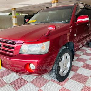 Toyota Kluger 2004 Red | Cars for sale in Dar es Salaam, Kinondoni