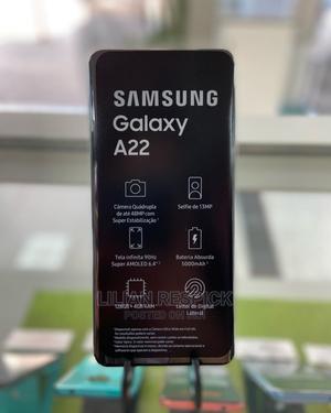New Samsung Galaxy A22 128 GB Black | Mobile Phones for sale in Dar es Salaam, Ilala