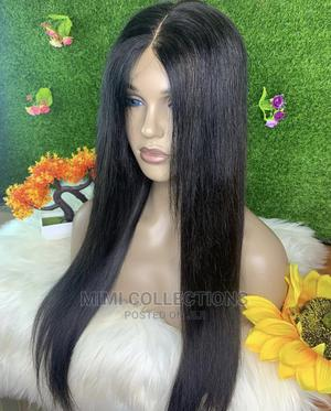 16 Inches Wig, 100% Human Hair, Soft and Silky Quality Wig   Hair Beauty for sale in Dar es Salaam, Ilala