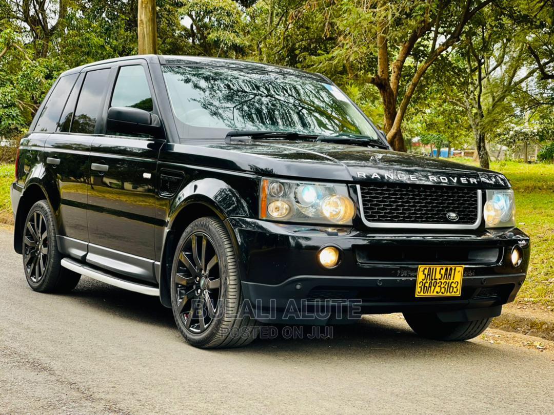 Land Rover Range Rover Sport 2005 Black