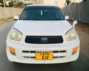 Toyota RAV4 2002 White   Cars for sale in Dar es Salaam, Ilala