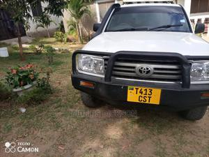Toyota Land Cruiser 1998 HDJ 100 4.2 D White   Cars for sale in Dar es Salaam, Kinondoni