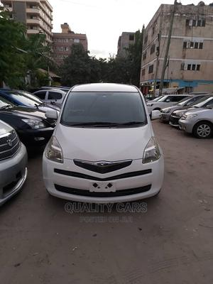 Toyota Ractis 2005 White   Cars for sale in Dar es Salaam, Ilala