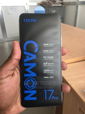 New Tecno Camon 17 Pro 256 GB Silver | Mobile Phones for sale in Dar es Salaam, Ilala