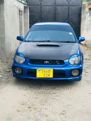 Subaru Impreza 2002 2.0 WRX STi Blue   Cars for sale in Dar es Salaam, Ilala