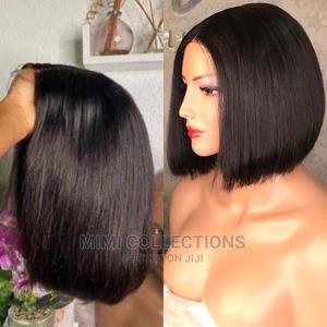 10 Inches Bob Wig, 100% Human Hair   Hair Beauty for sale in Dar es Salaam, Ilala