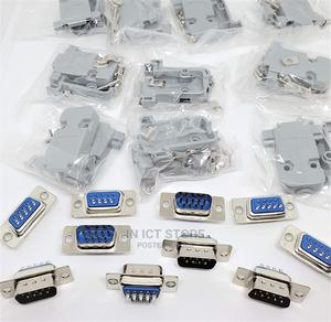 DB9 Male Solder Connector Kit - Plastic   Accessories & Supplies for Electronics for sale in Dar es Salaam, Ilala
