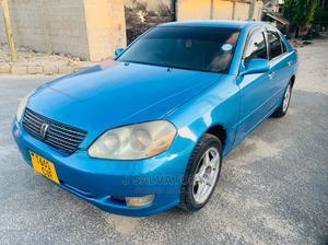 Toyota Mark II 2002 2.0 AWD Blue   Cars for sale in Dar es Salaam, Kinondoni