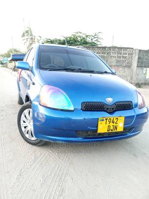 Toyota Vitz 2000 1.0 FWD 3dr Blue   Cars for sale in Dar es Salaam, Kinondoni