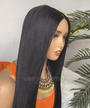 20 Inches, 100% Human Hair Wig, Soft and Silky   Hair Beauty for sale in Dar es Salaam, Ilala