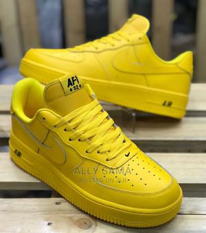 Air Nike Yellow   Shoes for sale in Dar es Salaam, Ilala