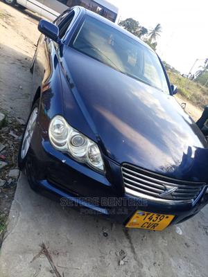 Toyota Mark X 2012 Blue   Cars for sale in Dar es Salaam, Ilala