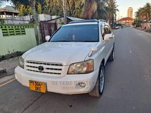 Toyota Kluger 2001 White   Cars for sale in Dar es Salaam, Ilala