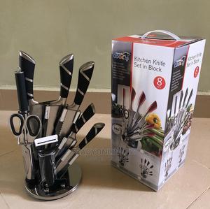Knife Set in Block   Kitchen & Dining for sale in Dar es Salaam, Ilala