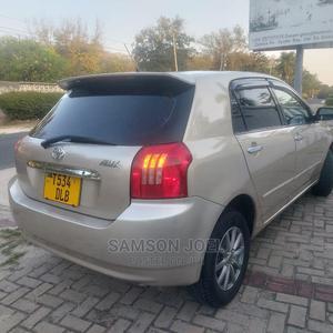 Toyota Allex 2004 Gold   Cars for sale in Dar es Salaam, Kinondoni