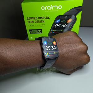 Curved Display Slim Design Smart Watch Oraimo | Smart Watches & Trackers for sale in Dar es Salaam, Kinondoni