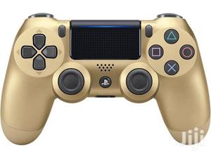 Dualshock 4 Wireless Controller For Playstation 4 - Gold | Video Game Consoles for sale in Dar es Salaam, Ilala