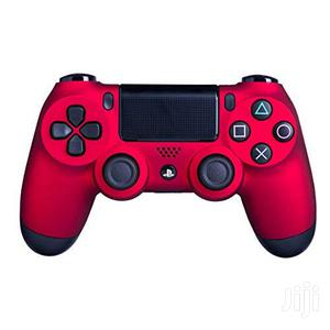 Dualshock 4 Wireless Controller For Playstation 4 - Red | Video Game Consoles for sale in Dar es Salaam, Ilala
