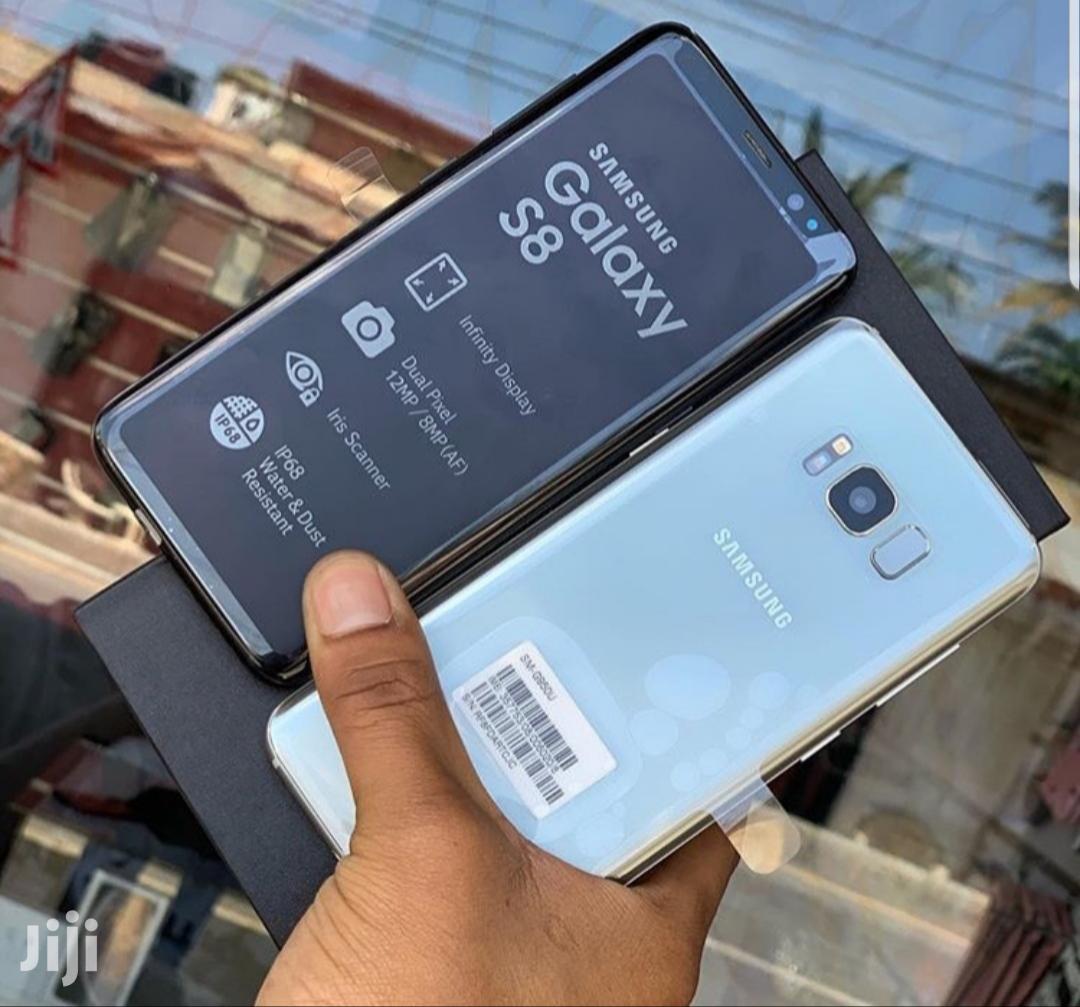 New Samsung Galaxy S8 64 GB Black   Mobile Phones for sale in Ilala, Dar es Salaam, Tanzania