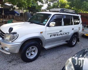 Toyota Land Cruiser Prado 1998 White | Cars for sale in Dar es Salaam, Kinondoni