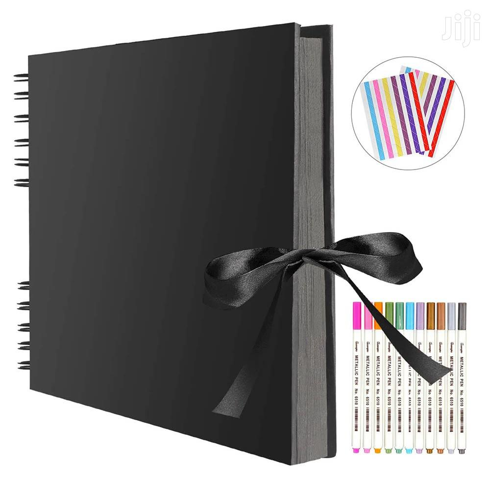 Photo Albums 80 Black Pages Memory Books, A4 Craft Paper DIY | Accessories & Supplies for Electronics for sale in Kinondoni, Dar es Salaam, Tanzania