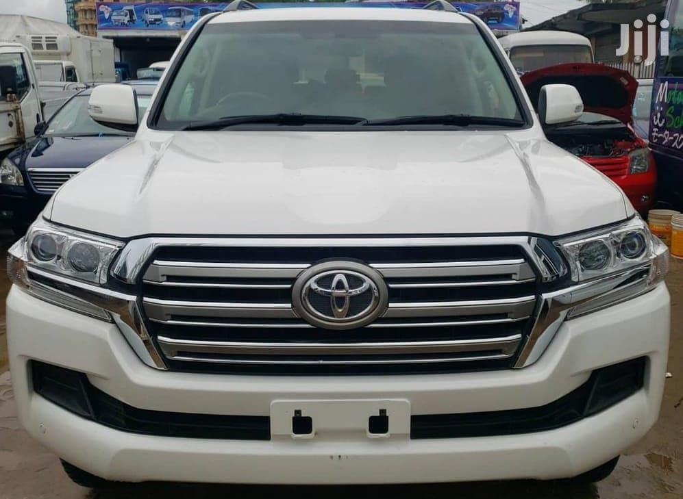 Toyota Land Cruiser 2016 White | Cars for sale in Kinondoni, Dar es Salaam, Tanzania