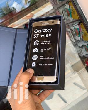 New Samsung Galaxy S7 edge 32 GB Gold | Mobile Phones for sale in Dar es Salaam, Kinondoni