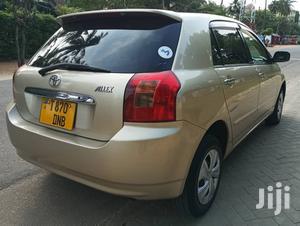Toyota Allex 2001 Gold | Cars for sale in Dar es Salaam, Kinondoni