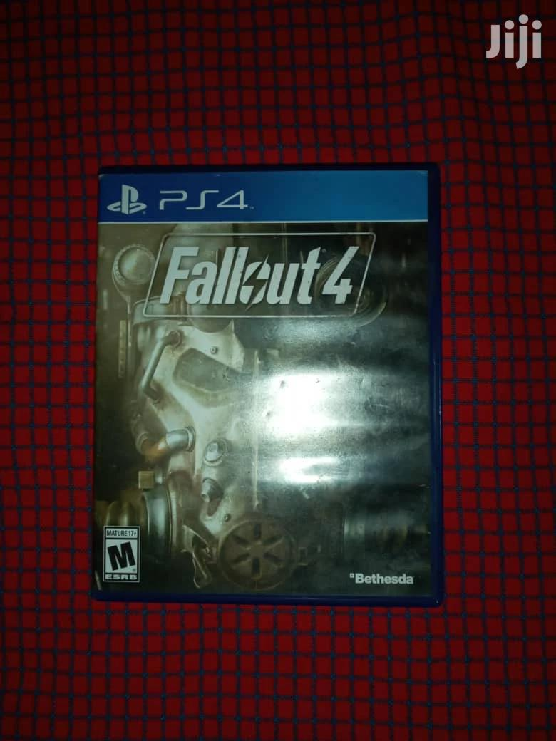 Ps4 Cd Games Fallout 4