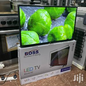Boss LED TV Inch 32 Double Glass   TV & DVD Equipment for sale in Dar es Salaam, Ilala
