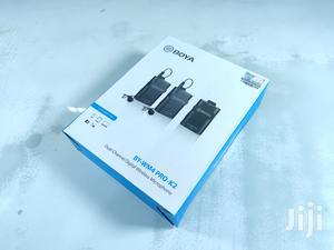 BOYA BY-WM4 Pro K2 Dual Channel 2.4G Wireless Lavalier Mic | Accessories & Supplies for Electronics for sale in Dar es Salaam, Kinondoni