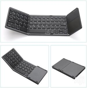 Foldable Bluetooth Keyboard With Touchpad - B033   Accessories for Mobile Phones & Tablets for sale in Dar es Salaam, Ilala