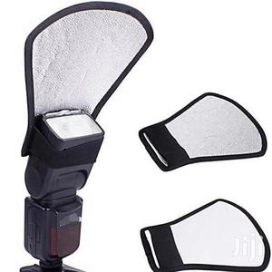 Camera Flash Diffuser, Silver And White Reflector | Accessories & Supplies for Electronics for sale in Dar es Salaam, Kinondoni