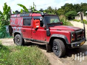 Land Rover Defender 1999 Red   Cars for sale in Dar es Salaam, Kinondoni