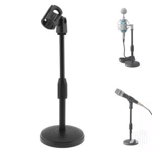 Portable Desktop Lifting Plastic Weight Disc Microphon Stand | Accessories & Supplies for Electronics for sale in Dar es Salaam, Kinondoni