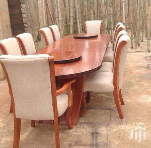Dinning Table (Viti 8-Mkongo Wood )   Furniture for sale in Dar es Salaam, Temeke