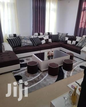 Classic L-SHAPE DESIGN (7seat+Coffee Table And Ottomans) | Furniture for sale in Dar es Salaam, Kinondoni