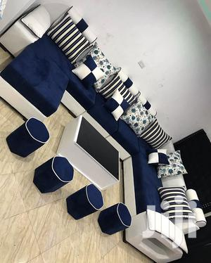 L-shape Design (8seats+Coffee Table And It's Ottoman's) | Furniture for sale in Dar es Salaam, Kinondoni
