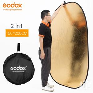 Godox 150*200cm 2 In 1 Gold And Silver Photography Reflector | Accessories & Supplies for Electronics for sale in Dar es Salaam, Kinondoni