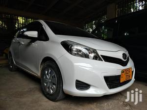 Toyota Vitz 2014 White   Cars for sale in Dar es Salaam, Ilala