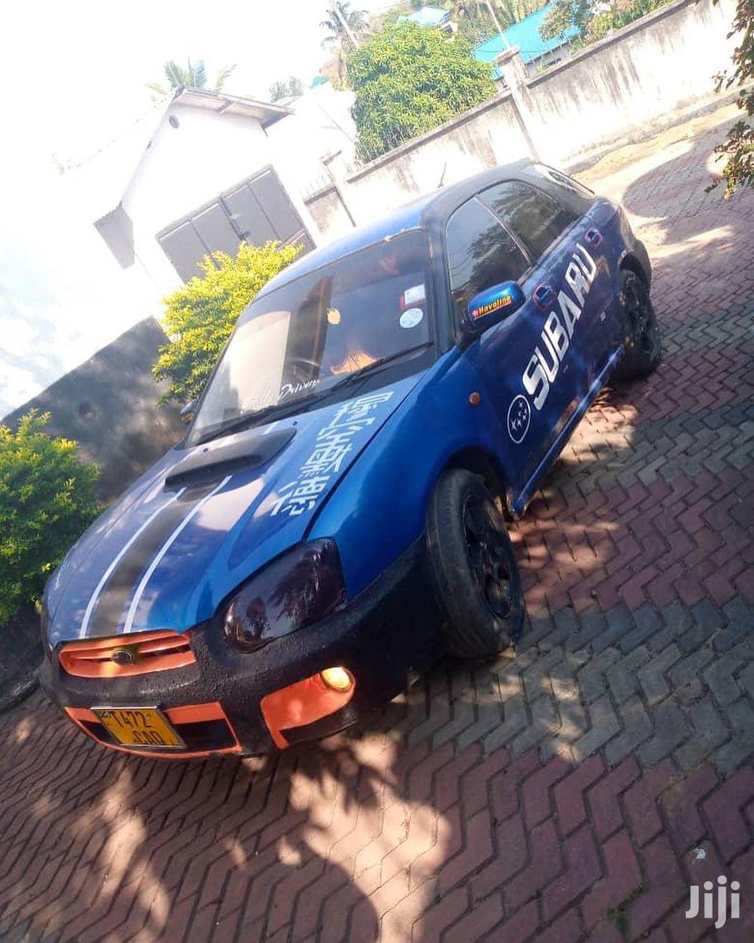 Subaru Impreza 2003 Blue