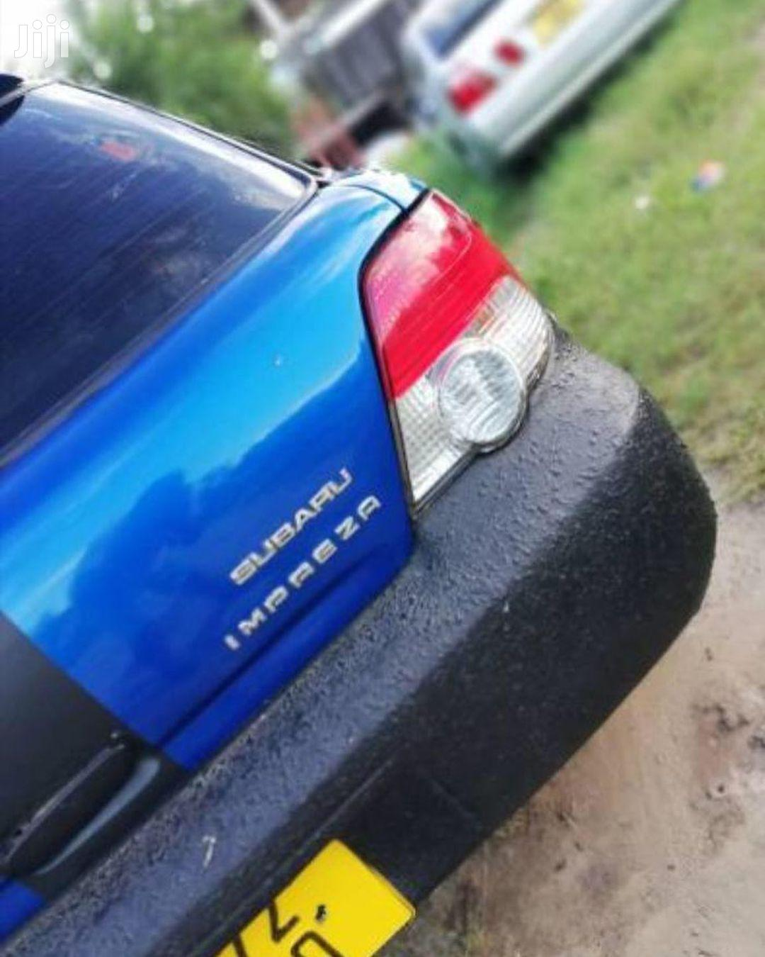 Subaru Impreza 2003 Blue   Cars for sale in Kinondoni, Dar es Salaam, Tanzania