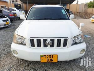 Toyota Kluger 2002 White | Cars for sale in Dar es Salaam, Kinondoni
