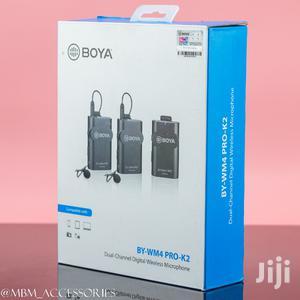 BOYA BY-WM4 Pro K2 Portable 2.4G Wireless Microphone System   Audio & Music Equipment for sale in Dar es Salaam, Kinondoni