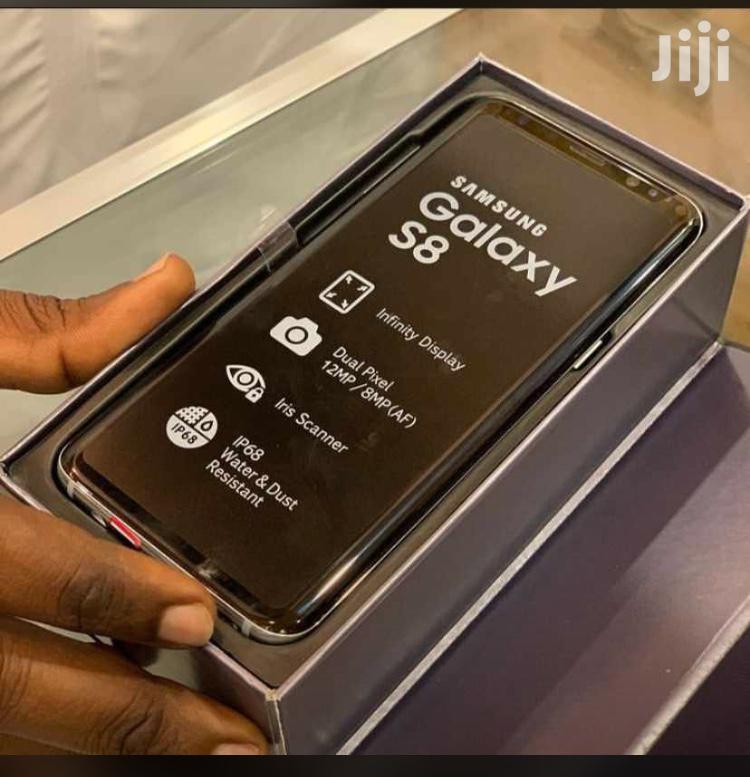 New Samsung Galaxy S8 64 GB Black   Mobile Phones for sale in Kinondoni, Dar es Salaam, Tanzania